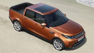 Land Rover Discovery pick-up