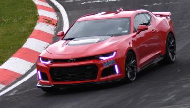 Vídeo: 'tiempazo' del Chevrolet Camaro ZL1 en Nürburgring