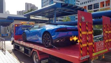 Vídeo: conducción temeraria en un Lamborghini Huracán
