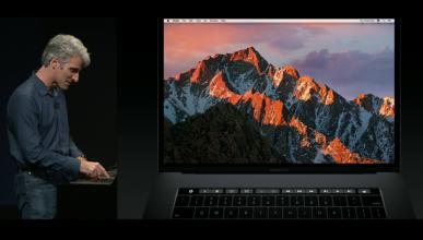 Primera imagen del MacBook Pro con panel táctil OLED