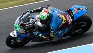 Libres Moto2 Malasia 2016: Morbidelli sigue yendo muy fino