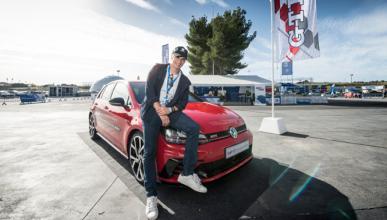 Carlos Baute, estrella invitada en el VW Driving Experience