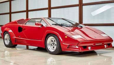A la venta un Lamborghini Countach de 1990 con solo 643 kms