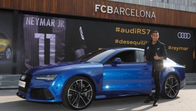 Jugadores FC Barcelona prueban Audi Q2