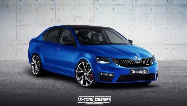 Nuevo Skoda Octavia RS: así luciría