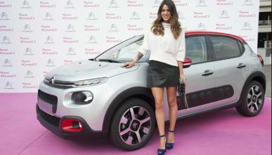 Laura Matamoros Flores amadrina el 'Citroën Urban Tour'