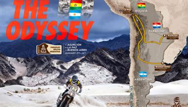 Recorrido Dakar 2017: Asunción-Buenos Aires