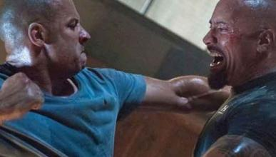 'Fast 8': 'La Roca' vuelve a cargar contra Vin Diesel