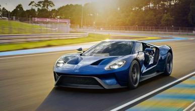 Los tres prototipos del Ford GT multados, se libran