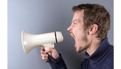 La mejor manera de reaccionar si alguien te grita