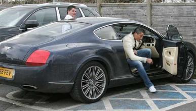 El Bentley Continental GT Speed de Cristiano Ronaldo