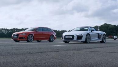 Una vez más el Audi RS6 Avant se ríe de un superdeportivo