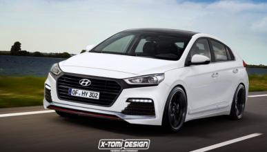 ¿Te imaginas un Hyundai Ioniq Turbo?