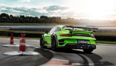 Techart GTstreet R Porsche 911 Turbo trasera