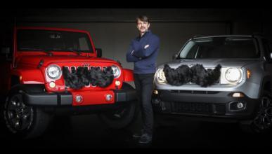 Jeep se une a Movember, y presenta bigotes para sus coches