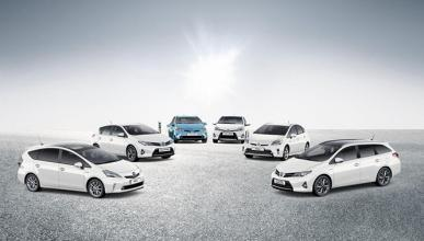 ¿Sabes cuántos modelos componen la gama híbrida Toyota?
