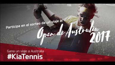 ¿Quieres ir al Open de Australia? Kia te invita