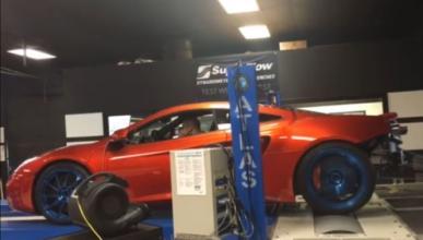 Vídeo: tres turbos y 1.200 CV para el McLaren MP4-12C