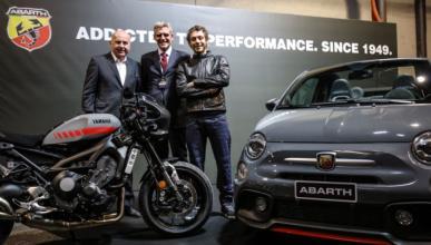 Abarth presenta el Tributo XSR: homenaje a las dos ruedas