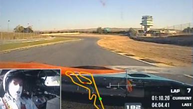 Una vuelta al Jarama con el BMW M6 GT3 de Teo Martín