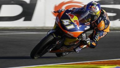 Carrera Moto3 Valencia 2016: Binder cierra a lo campeón