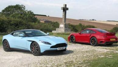 Vídeo: Aston Martin DB11 vs Porsche 911 Turbo S