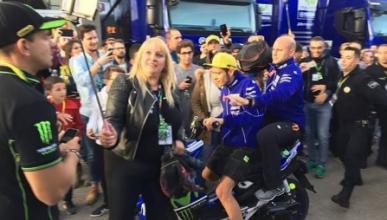 """Ana Cabanillas: """"No vale el perdón de Rossi, le denunciaré"""""""