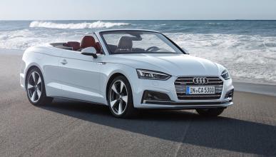 Imágenes novedades Salón Los Ángeles 2016 Audi A5 Cabrio 2017