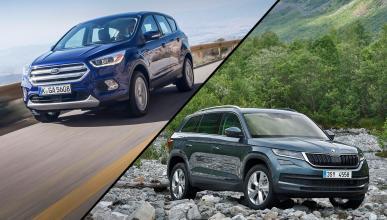 ¿Cuál es mejor, Ford Kuga 2016 o Skoda Kodiaq?