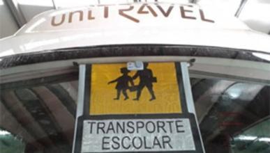 Revienta el alcoholímetro al volante de un bus escolar