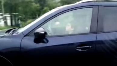 Grabado un niño conduciendo a más de 100 km/h