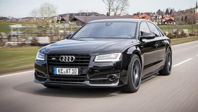 Probamos el Abt Audi S8 plus: una berlina radical