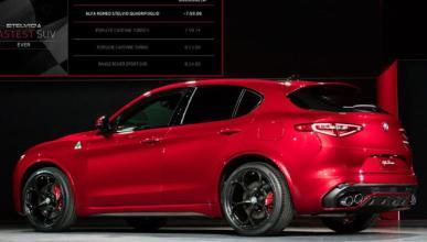 Alfa Romeo Stelvio: ¿el SUV más rápido en Nürburgring?