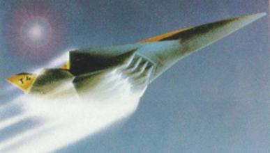El nuevo avión supersónico para carreras espaciales