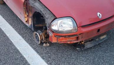 Conducir borracha y en sentido contrario no fue lo peor...