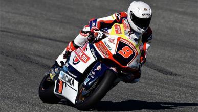 Jorge Navarro se lesiona en su estreno con la Moto2