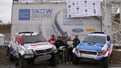 Esponsorama, con Nani Roma y Xevi Pons en el Dakar 2017