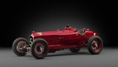 Este precioso Alfa Romeo Tipo B sale a subasta