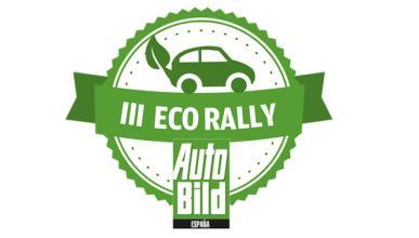 III Eco Rally AUTO BILD: publicación de velocidades medias