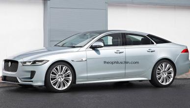 Este podría ser el aspecto del próximo Jaguar XJ