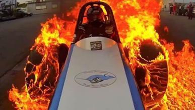 Vídeo: el 'burnout' más espectacular que verás