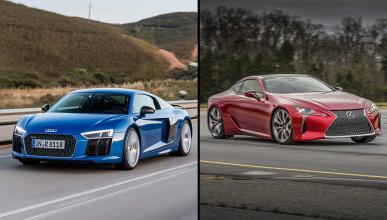 ¿Cuál es mejor, el Lexus LC 500 o el Audi R8 V10?