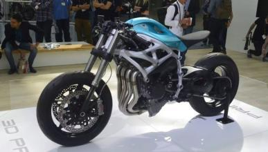 Divergent 3D Dagger: una Kawasaki H2 con impresora 3D