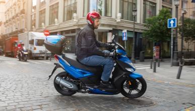 Las motos sí circularán por el centro de Madrid en Navidad