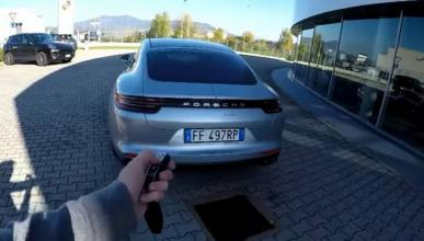 El youtubers Marchettino prueba el Porsche Panamera Turbo