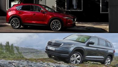¿Cuál es mejor, Mazda CX-5 o Skoda Kodiaq?