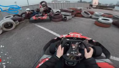 Vídeo: impactante accidente en un kart