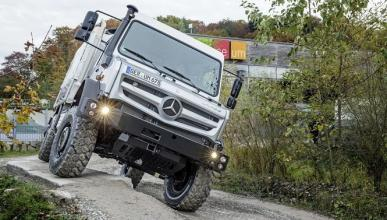 ¿Quieres conducir un Mercedes Unimog?