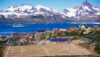 Estadios asombrosos: Campo de Tasiilaq (Groenlandia).