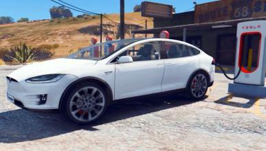 Ahora puedes conducir un Tesla Model X en el GTA V